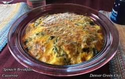 Spinach Breakfast Casserole