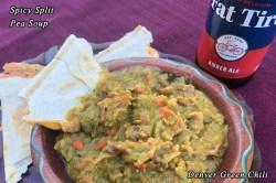 Spicy Split Pea Soup