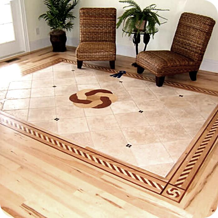 oshkosh designs wood flooring inlays