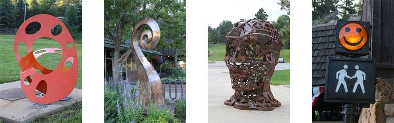 Evergreen Colorado - Sculpture Walk