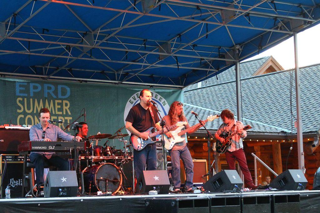 Evergreen lake Concert Series