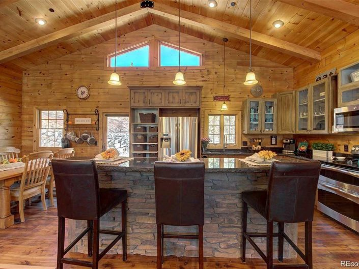 conifer co mountain home for sale