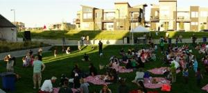 green conservatory in stapleton is where the denver municipal band plays