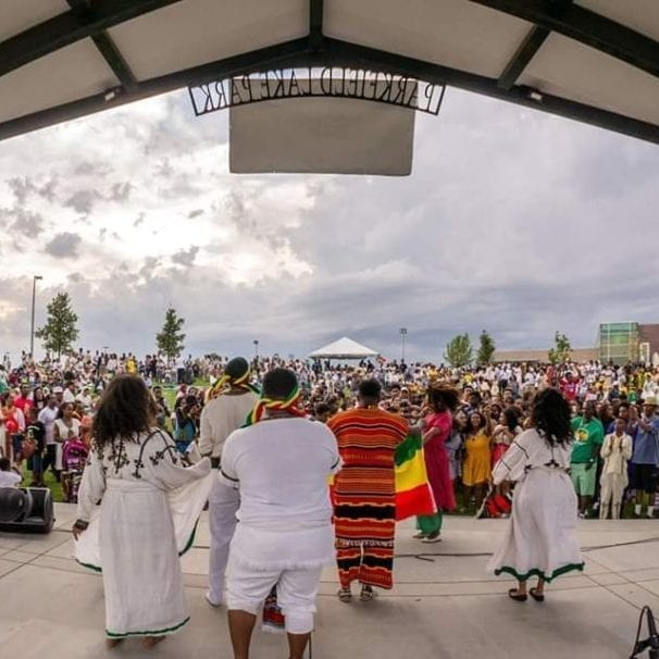 denver municipal band is proud to play taste of ethiopia