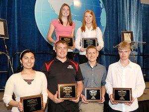 Students receive scholarship awards