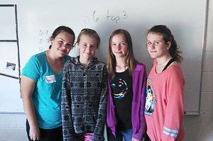 Junior Achivement - Middle School Students