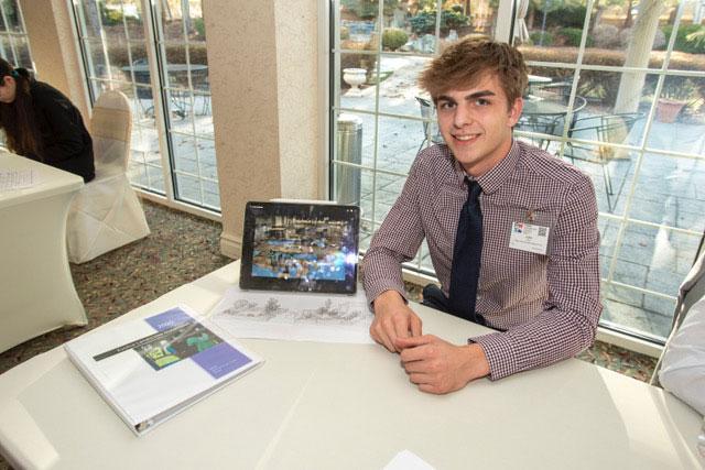 High School Project Contest Winner Luke Flay