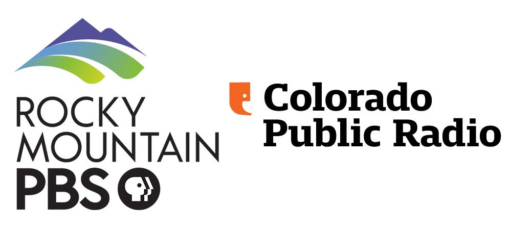 Damon Runyon Award 2020 Gold Sponsors Rocky Mountain PBS and Colorado Public Radio