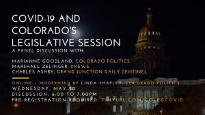 COVID Legislature panel May 20, 2020.