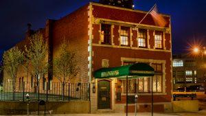 The Denver Press Club is seen on April 30, 2020, in Denver, Colorado.