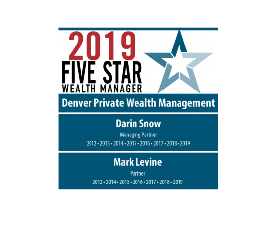 2019 Five Star Wealth Manager logo