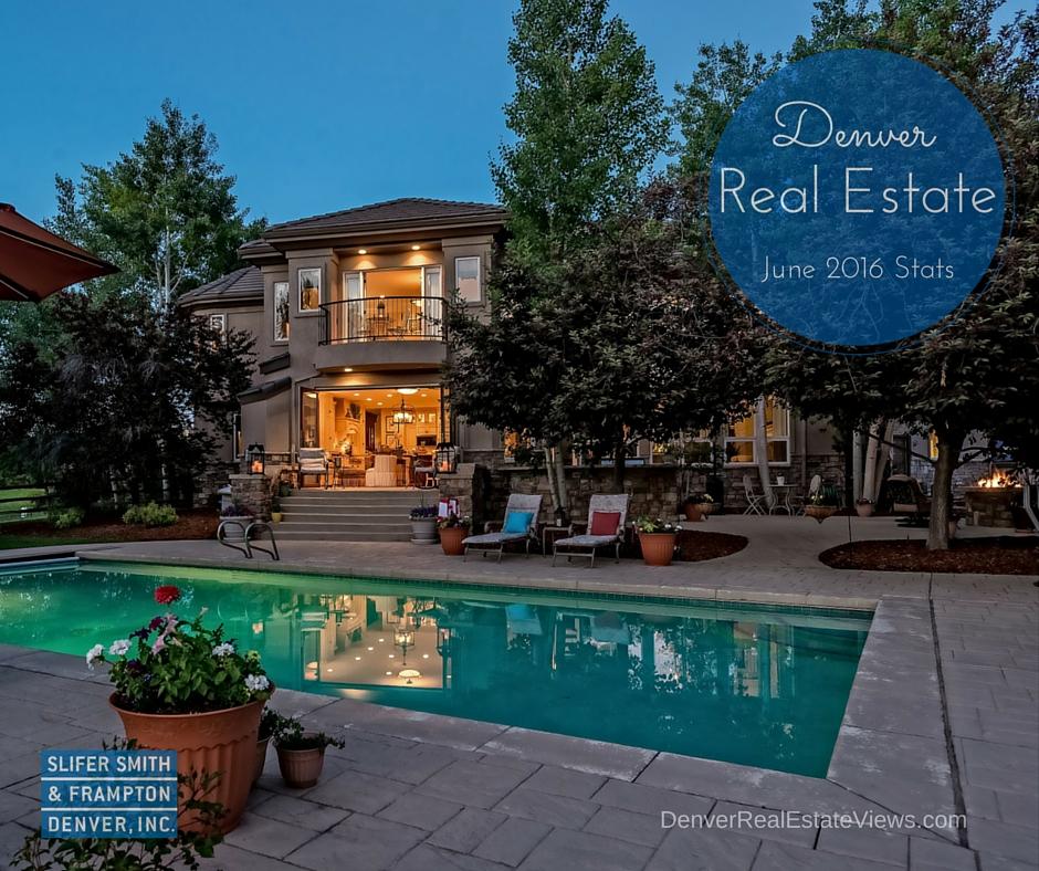 Denver Real Estate Market Statistics June 2016