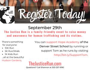 Justice Run Postcard for B&B-1