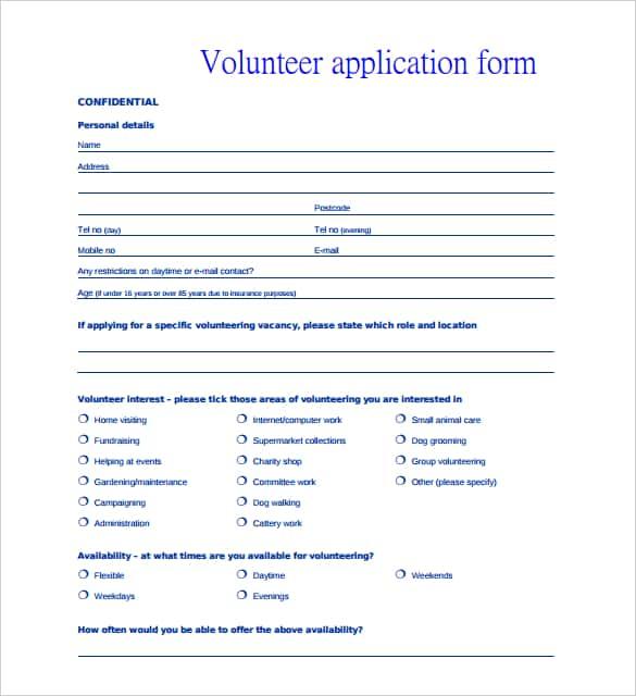 student registration form template free download