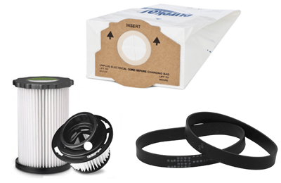 vacuum cleaner parts: vacuum filters, vacuum belts, vacuum bags