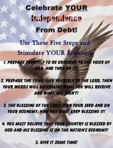 Independence From Debt