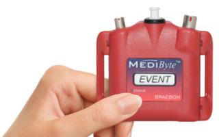 Hand holding MediByte