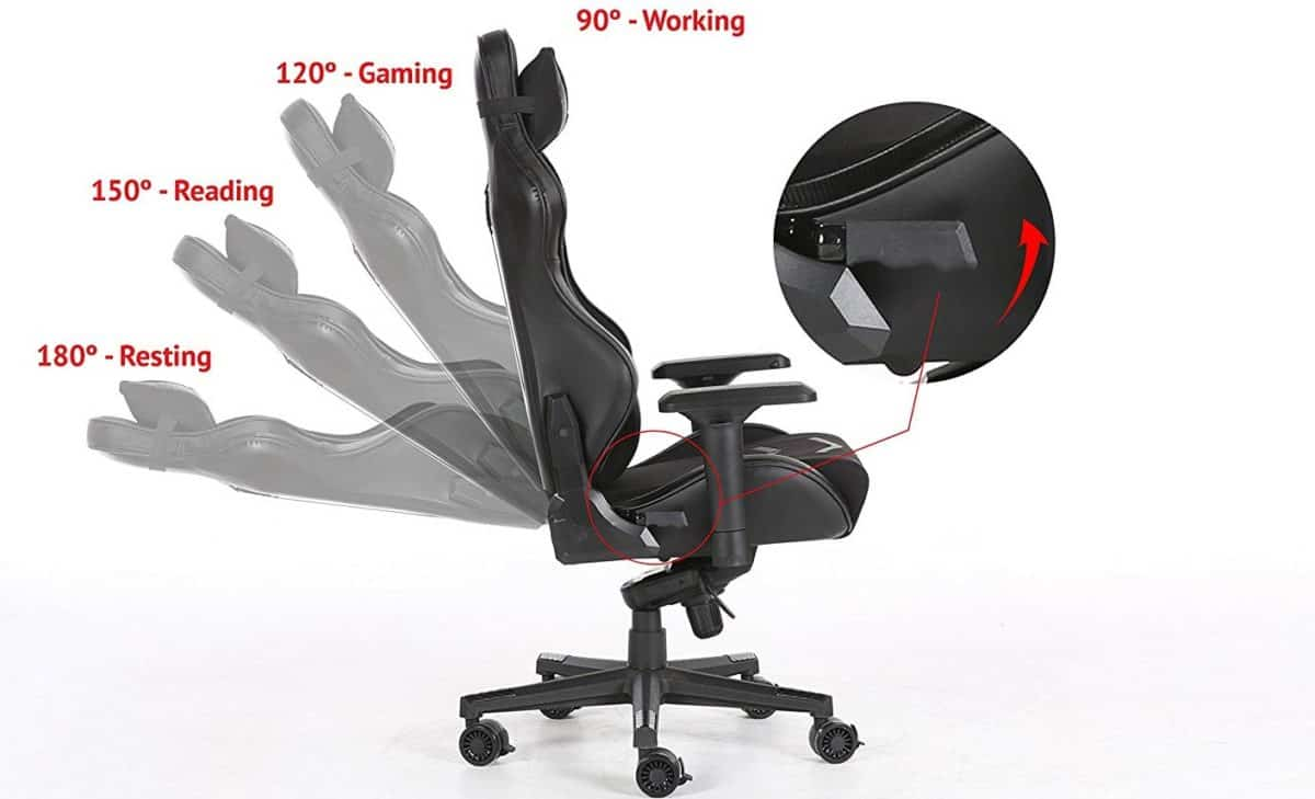 Body Built Chairs 8 Best Gaming Chairs In 2019 Reviews Buyer S Guide