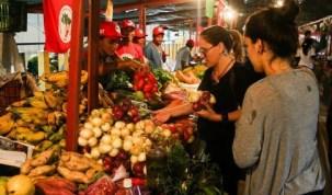 Sucesso da 1ª Feira Nacional da Reforma Agrária realizado em SP deu origem a ideia do Armazém do Campo. Foto de Joka Madruga