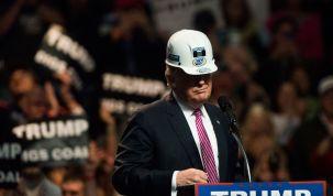 Trump em campanha