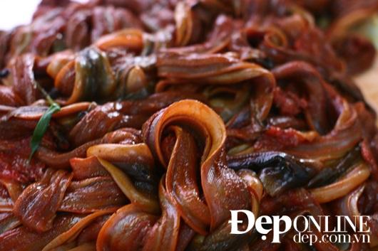 lươn om, lươn cuốn thịt, món lươn