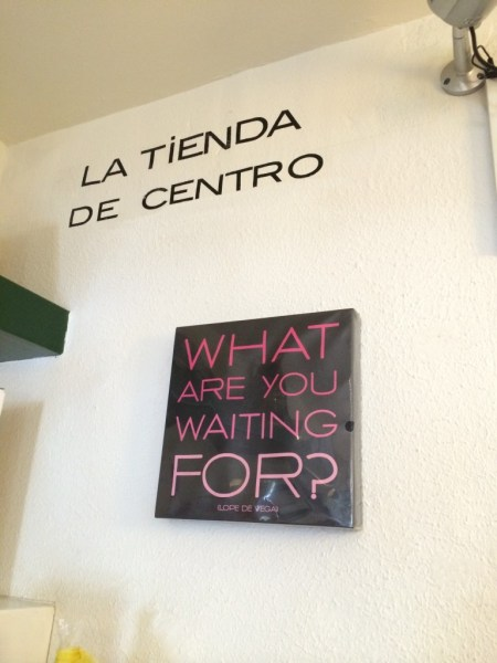 ¿Qué estás esperando?
