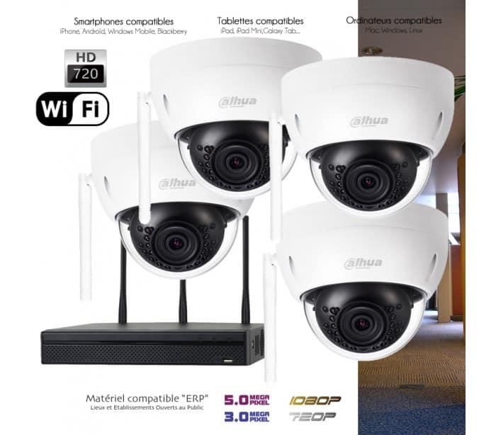 kit wifi vidéosurveillance interieure