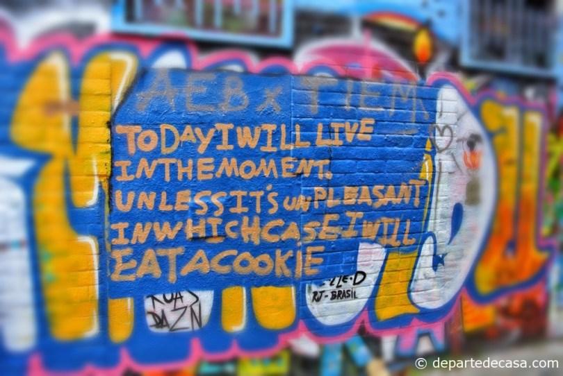 Grafitti street in Gent