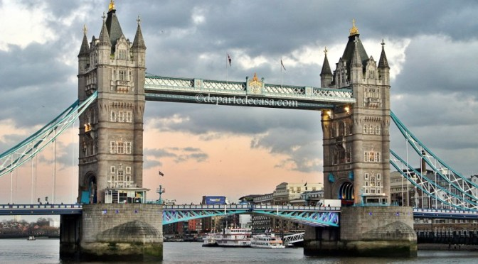London Tower Bridge, londra obiective turistice