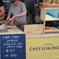 London Cheesemongers grilled cheese sandwich
