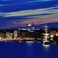 Nava Af Chapman (hostel) acostata langa Skeppsholmen