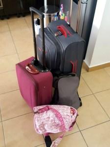 bagaje avion cu copilul