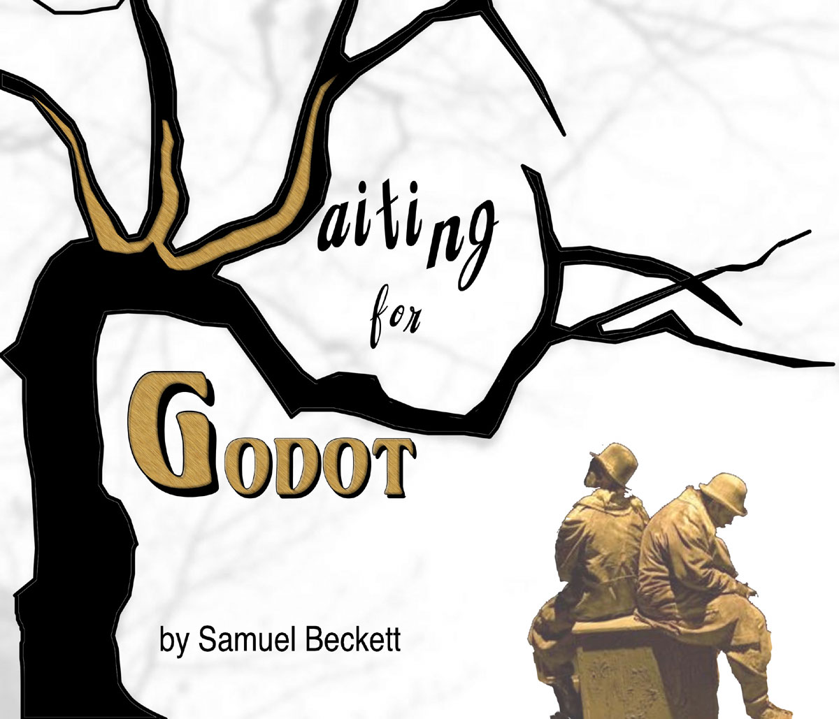 Image result for Waiting for Godot Posters