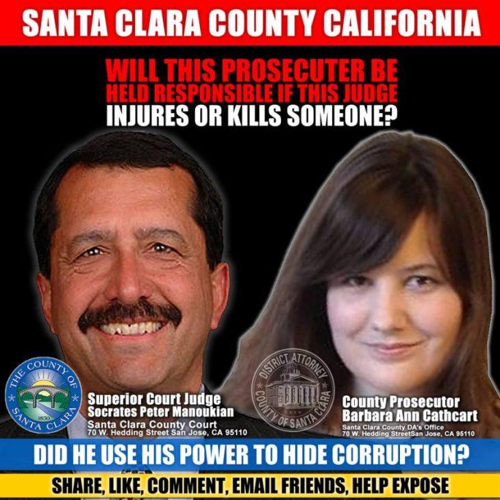 FBI Investigation needed into corrupt judge Socrates Peter Manoukian  US Department of