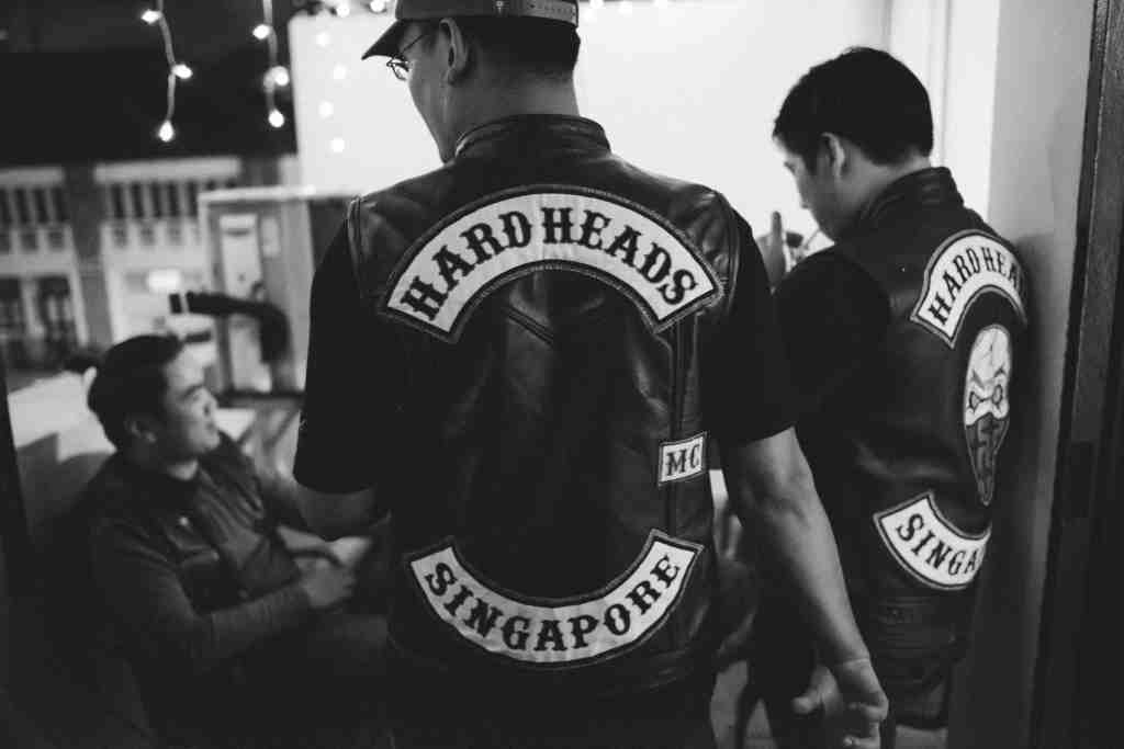 HARDHEADS MC HR MONOCHROME