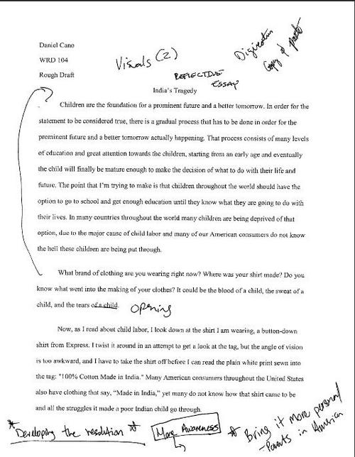 Rough Draft Essay Essay Draft Example Argument Essay Topics Argument