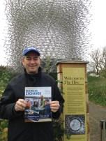 Jim Patterson (BUS '78) at the Royal Botanic Gardens, Kew, London.