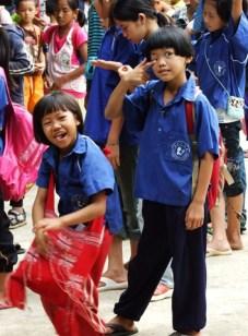 Half Day School students