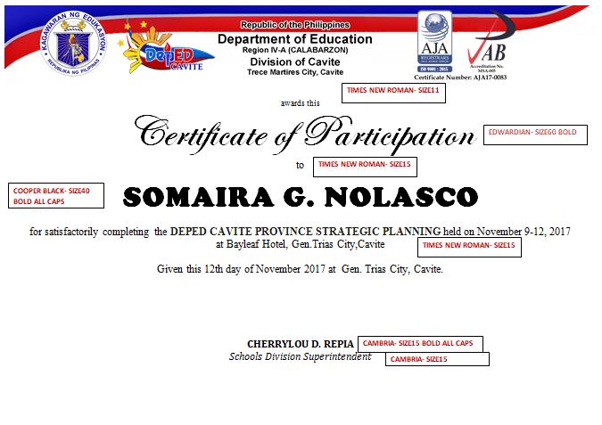certificate of appreciation for teachers