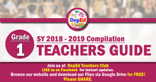 small resolution of GRADE 1 Teachers Guide (TG) - The Deped Teachers Club