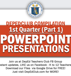 1st Quarter Powerpoint Presentations Compilation   DepEd Club [ 656 x 1250 Pixel ]