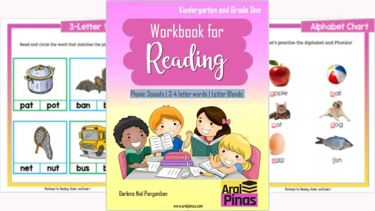 Compiled: Kinder and Grade 1 English Workbook for Reading DOWNLOAD NOW! [ 720 x 1280 Pixel ]