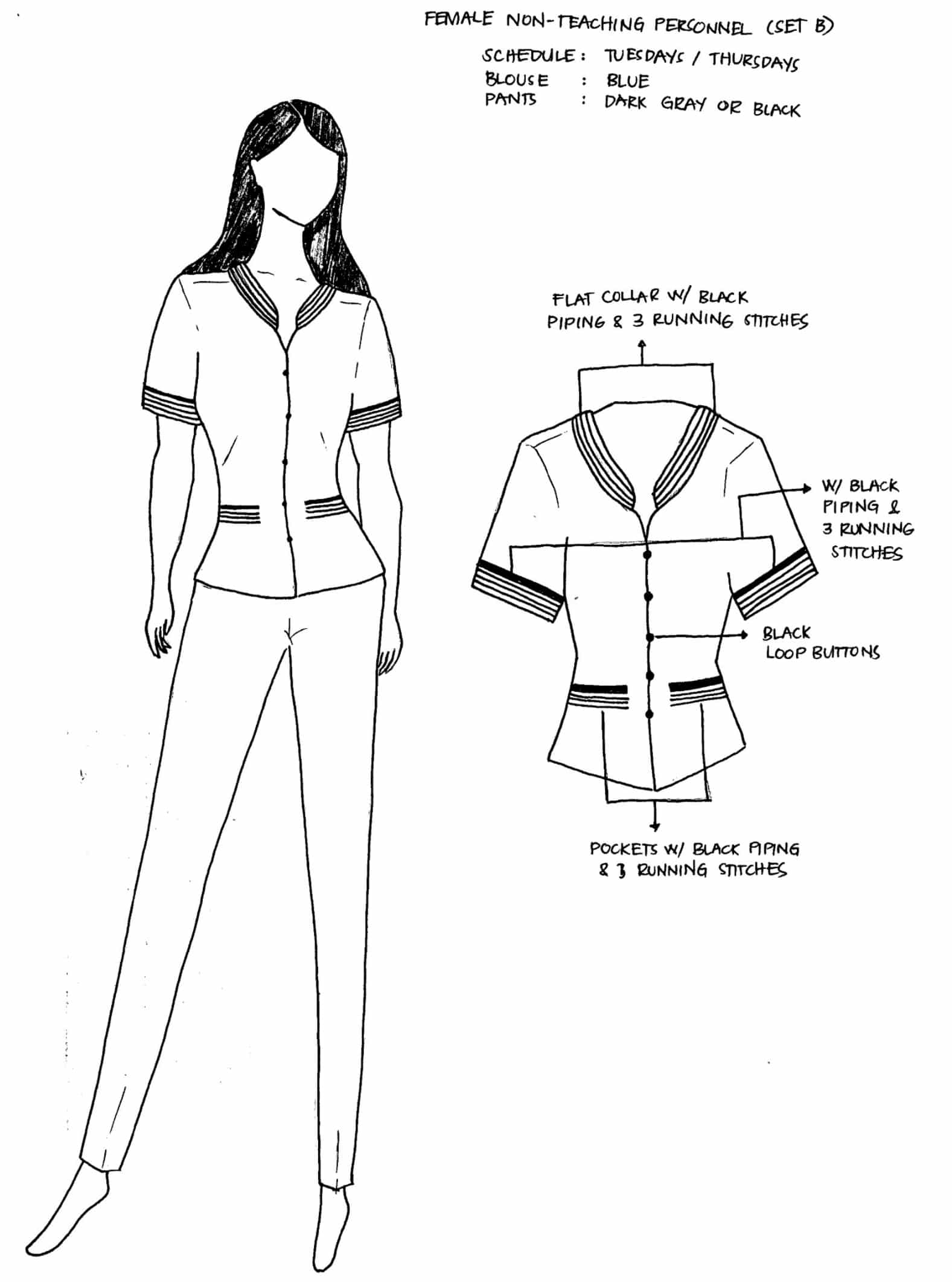 Updated DepEd National Uniforms for Teaching and Non