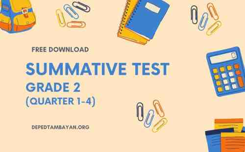small resolution of GRADE 2 - Summative Tests