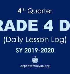 4th Quarter GRADE 4 DLL – Daily Lesson Log   SY 2019 – 2020 [ 1080 x 1920 Pixel ]