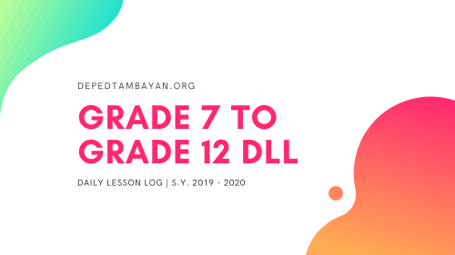 small resolution of Grade 7-12 DLL – Daily Lesson Log   SY 2019 – 2020