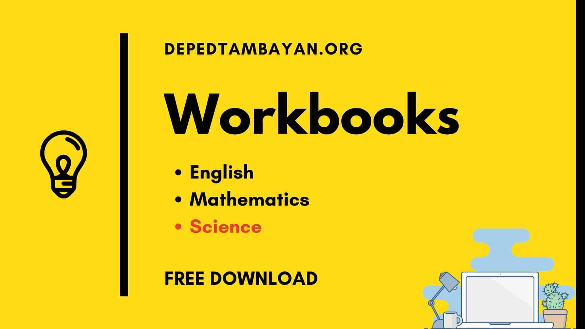 Workbooks In Science Free Download Grade 3 To Grade 6
