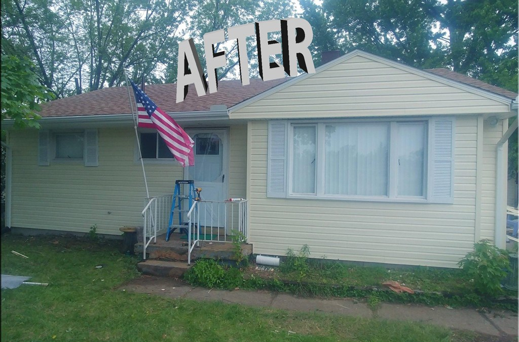 Siding Replaced