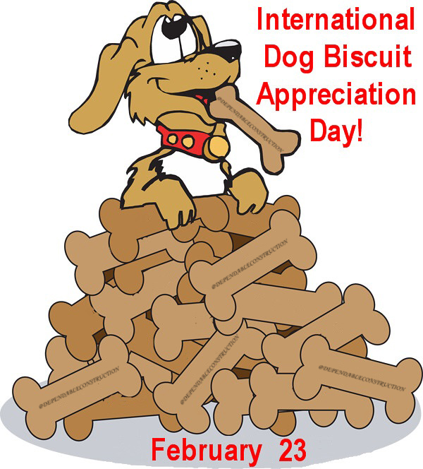 International Dog Biscuit Appreciation Day 2021