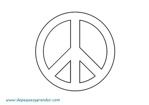 Día Escolar de la paz y la No Violencia símbolo de la paz